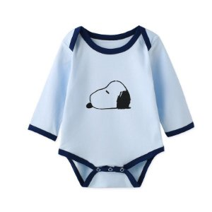 Body Manga Longa Estampado Snoopy