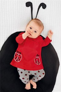 Conjunto Joaninha Baby