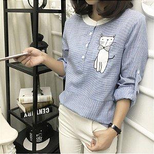 Camisa de Gatinho