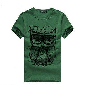 TShirt Estampada Owl