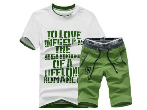 Kit Camisa e Bermuda Sports Wear