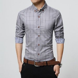 Camisa Social Plaid