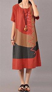 Vestido Estilo Marroquino