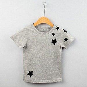 Blusa Infantil Algodao Estrelas