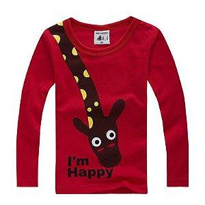 Blusa de Frio Girafa Feliz