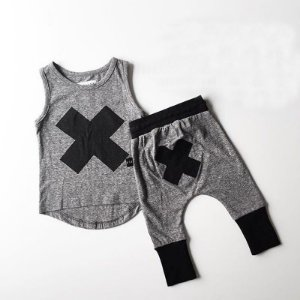 Conjunto Infantil Casual Unisex