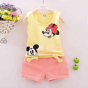 Conjuntinho Minnie e Mickey
