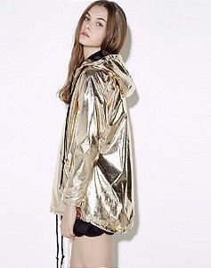 Jaqueta Metalizada Gold