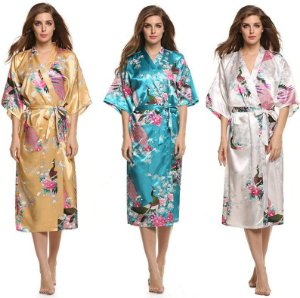 Kimono de Cetim Suave