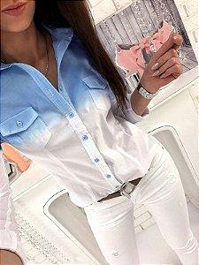 Camisa Social Degrade