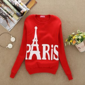 Sweater Estampa de Torre Eiffel‎