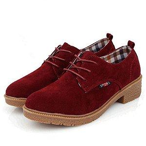 Sapato de Camurca