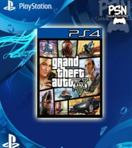 GTA 5 MÍDIA DIGITAL - PLAYSTATION 4