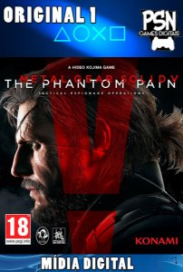 METAL GEAR SOLID V THE PHANTOM PAIN - PSN PS4 - MÍDIA DIGITAL