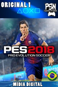 PES 2018 PRO EVOLUTION SOCCER 2018 - PSN PS4 - MÍDIA DIGITAL