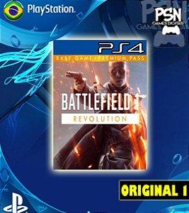BATTLEFIELD 1 REVOLUTION BF1 - PSN PS4 MÍDIA DIGITAL