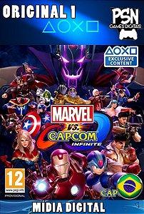 MARVEL VS. CAPCOM INFINITE - PSN PS4 MÍDIA DIGITAL