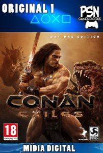 CONAN EXILES - PSN PS4 - MÍDIA DIGITAL