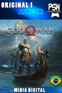 GOD OF WAR 4 - 2018 - PSN PS4 - MÍDIA DIGITAL