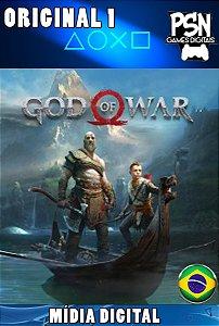 GOD OF WAR 4 - 2018 - PSN PS4 - MÍDIA DIGITAL