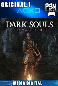 DARK SOUL REMASTERED - PSN PS4 - MÍDIA DIGITAL