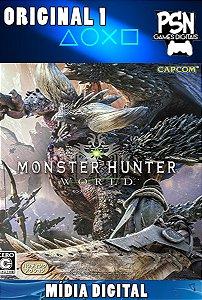 MONSTER HUNTER WORLD - PSN PS4 - MÍDIA DIGITAL