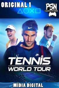 TENNIS WORLD TOUR - PSN PS4 - MÍDIA DIGITAL