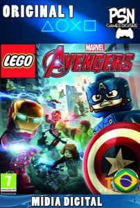 LEGO MARVEL'S AVENGERS - PSN PS4 - MÍDIA DIGITAL