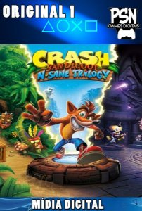 CRASH BANDICOOT N. SANE TRILOGY - PSN PS4 - MÍDIA DIGITAL