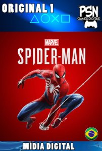 MARVEL'S SPIDER-MAN - PSN PS4 - MÍDIA DIGITAL