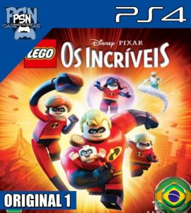 LEGO OS INCRÍVEIS PSN PS4 - MÍDIA DIGITAL