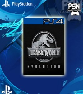 Jurassic World Evolution - Ps4 Psn Mídia Digital