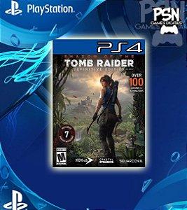 Shadow Of The Tomb Raider - Ps4 Psn Mídia Digital