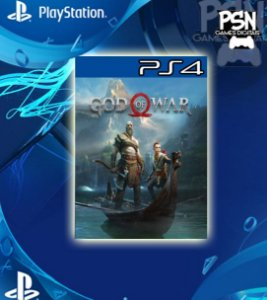 God Of War 4 - Ps4 Psn Mídia Digital