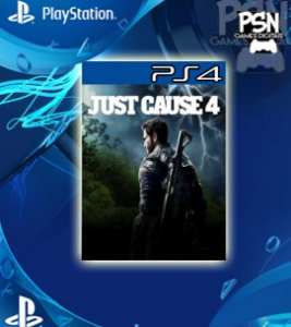 Just Cause 4 - Ps4 Psn Mídia Digital