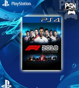 F1 2018 - Ps4 Psn Mídia Digital