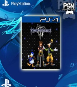 Kingdom Hearts 3 - Psn Ps4 Mídia Digital