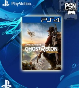 Tom Clancy's Ghost Recon Wildlands - Psn Ps4 Mídia Digital