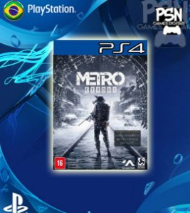 Metro Exodus - Psn Ps4 Mídia Digital