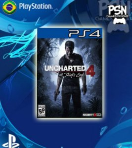 Uncharted 4 A Thief's End - Psn Ps4 Mídia Digital