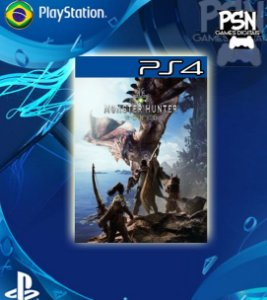 Monster Hunter World - Psn Ps4 Mídia Digital