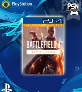 Battlefield 1 Revolution - Psn Ps4 Mídia Digital
