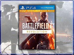Battlefield 1 Revolution - Psn Ps4 Mídia Digital