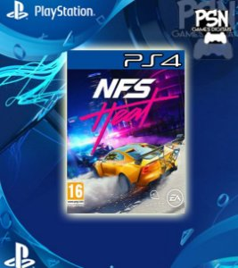 Need for Speed Heat Standard Edition - Psn Ps4 Mídia Digital
