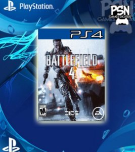Battlefield 4 - Psn Ps4 Mídia Digital