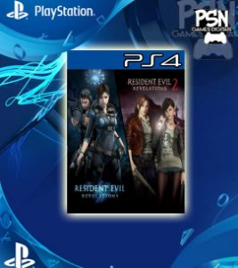 Resident Evil Revelations 1 & 2 - Psn Ps4 Mídia Digital