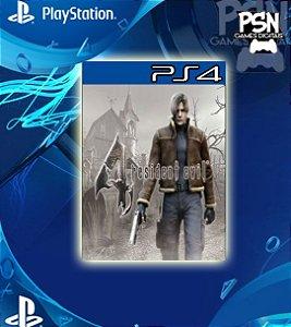 Resident Evil 4 - Psn Ps4 Mídia Digital