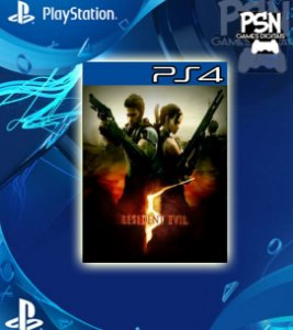 Resident Evil 5 - Psn Ps4 Mídia Digital