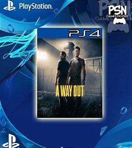A Way Out - Psn Ps4 Mídia Digital