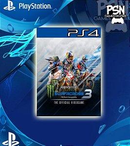 Monster Energy Supercross - The Official Videogame 3 - Psn Ps4 Mídia Digital
